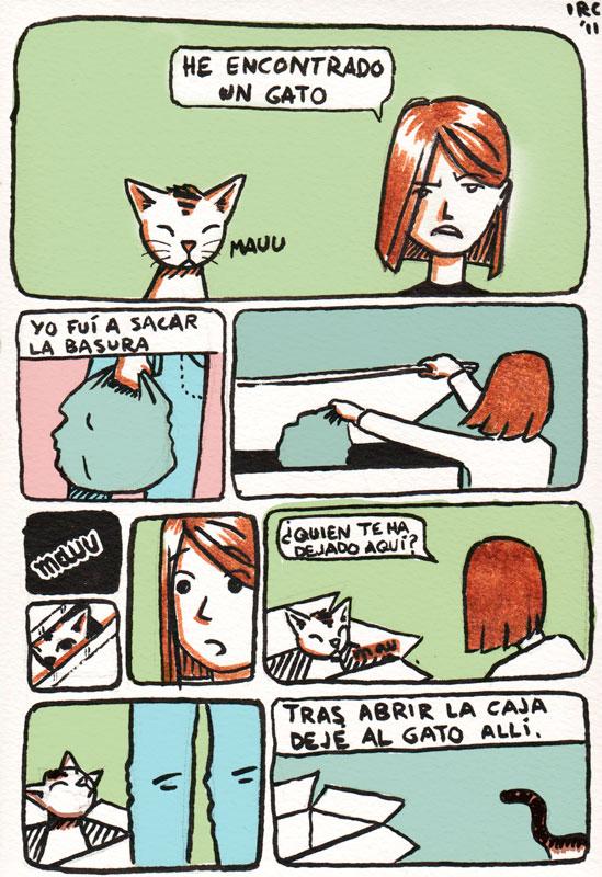Un gato pág. 1
